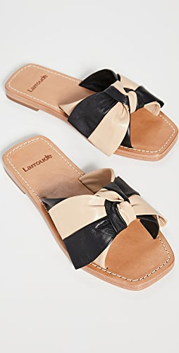 Larroude - Eloise 蝴蝶结凉拖鞋
