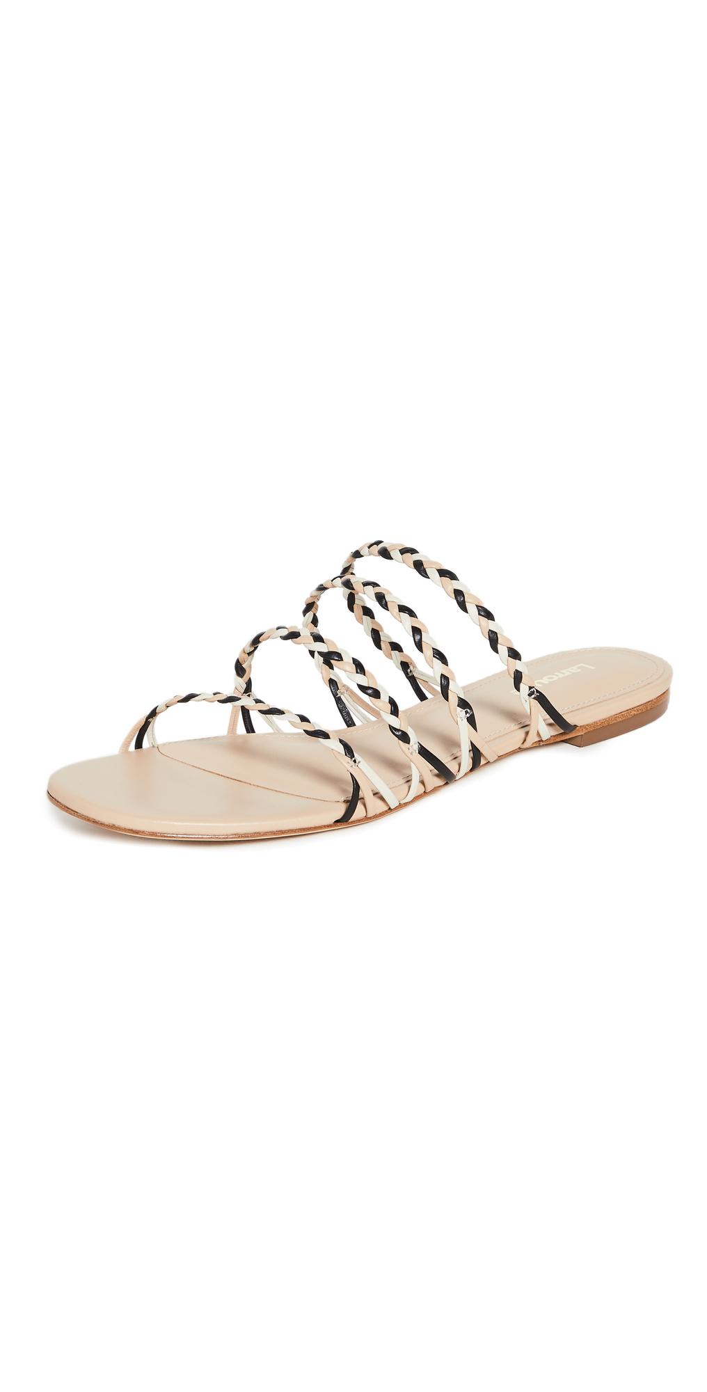 Ibiza Flat Woven Sandals