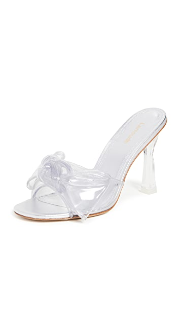 Larroude The Mariah Vinyl Sandals