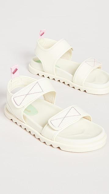 Larroude Malibu Sandals