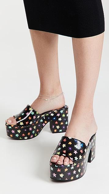 Larroude Miso Platform Sandals