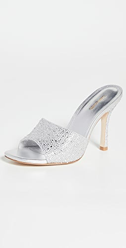 Larroude - Colette Crystal Sandals