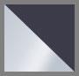Silver/White