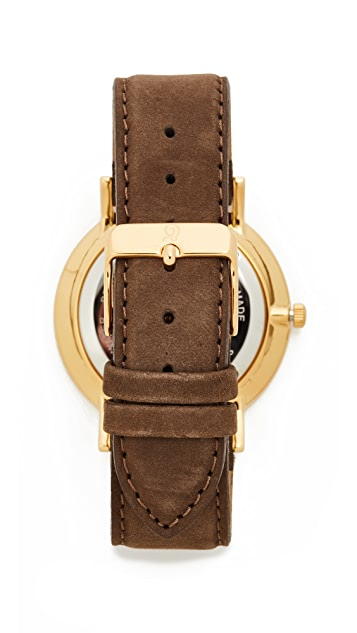 Larsson & Jennings Lugano Leather Strap Watch