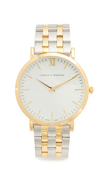 Larsson & Jennings Lugano 5 Link Watch