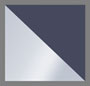 Silver/Navy