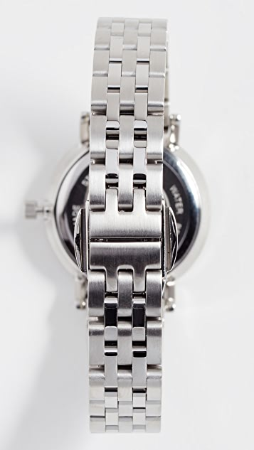 Larsson & Jennings Aurora Polished Guilloche Watch, 26mm