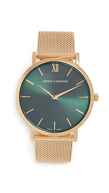 Larsson & Jennings Lugano Solaris Watch, 40mm