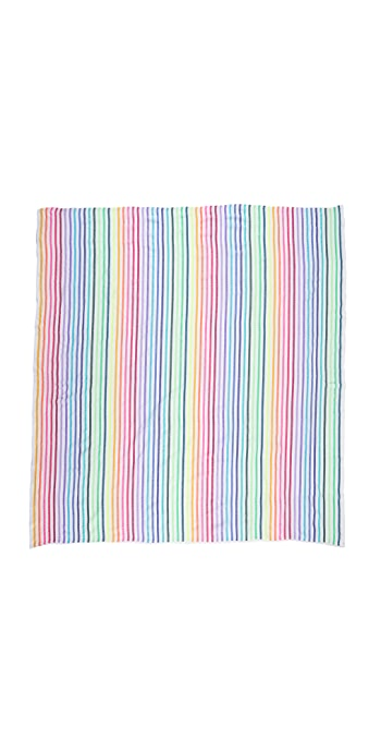 Las Bayadas La Lucia Beach Blanket - Rainbow Multi