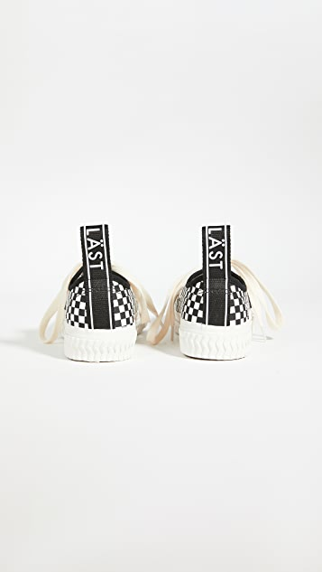 LAST 清新格纹运动鞋