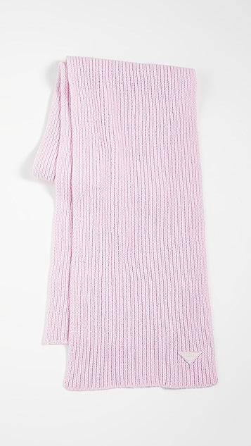 鞋楦 浅粉色围巾