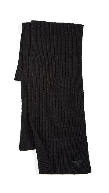 鞋楦 黑色围巾
