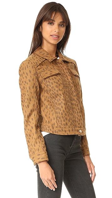 LAVEER Wooly Collar Weekend Jacket