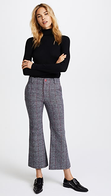 LAVEER Cropped Annie Trousers