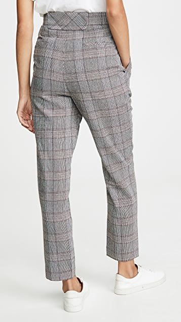 LAVEER Pleat Front Trousers