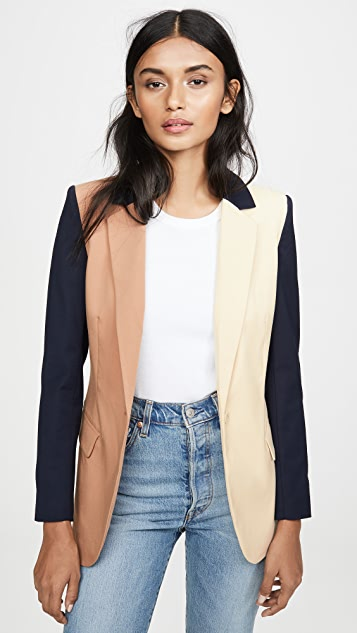 Colorblock Revelry Blazer by Laveer