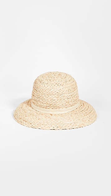 Lack Of Color Bloom Raffia Hat