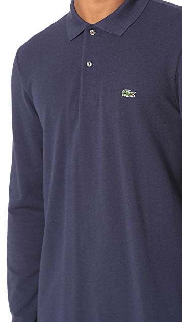 Lacoste Long Sleeve Classic Polo Shirt