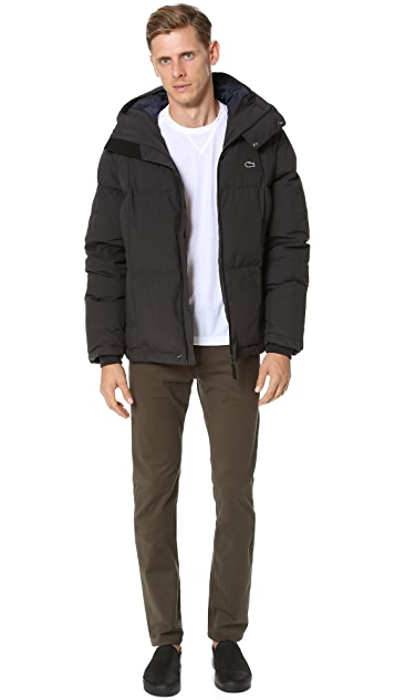 Lacoste Hooded Down Jacket