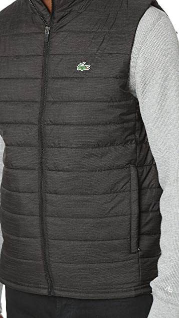 Lacoste Sport Ripstop Vest