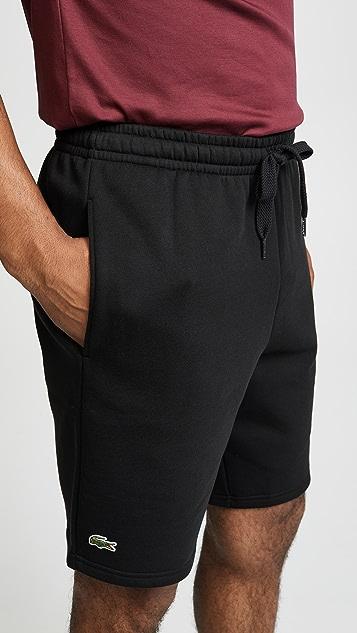 Lacoste Sport Fleece Shorts