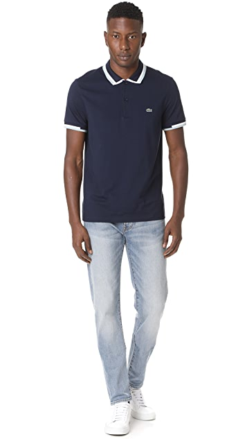 Lacoste Short Sleeve Jersey Polo Shirt
