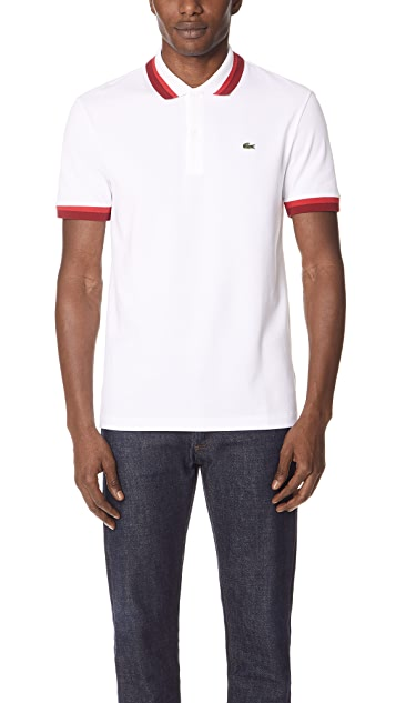 Lacoste Semi Fancy Polo Shirt East Dane Use Code Ednc18 For 15 Off