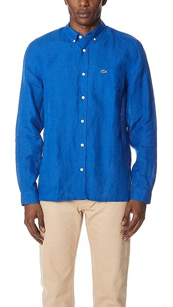 Lacoste Button Down Shirt