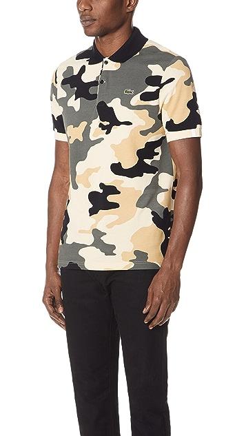 Lacoste Camo Polo Shirt