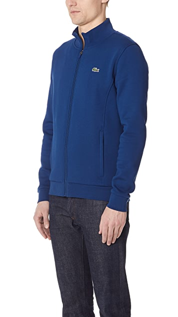Lacoste Full Zip Fleece Jacket