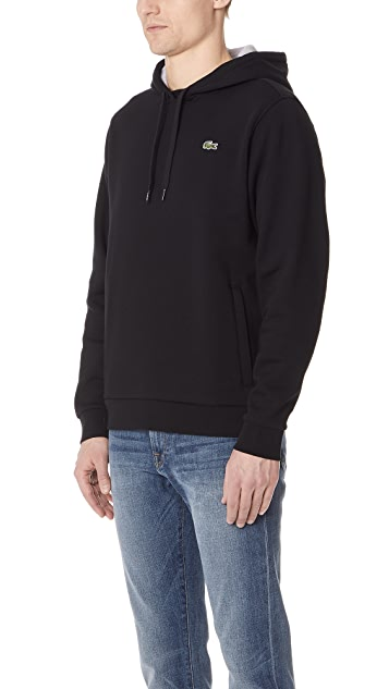 Lacoste Fleece Pullover Hoodie