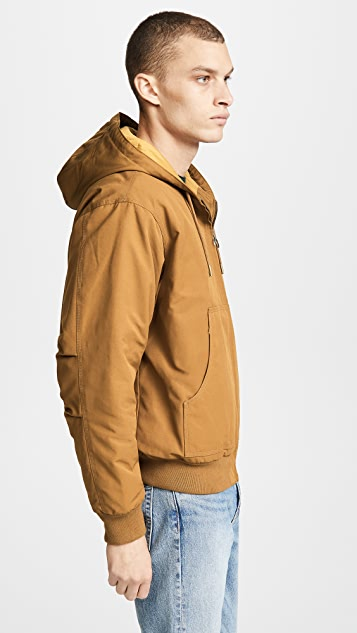 Lacoste Hooded Bomber Jacket