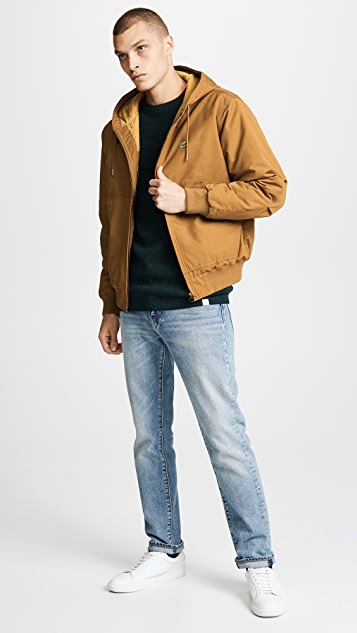Lacoste Hooded Bomber Jacket
