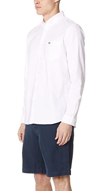 Lacoste Regular Fit Oxford Shirt