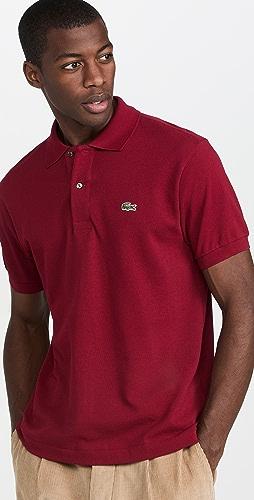 Lacoste - Short Sleeve Classic Pique Polo Shirt