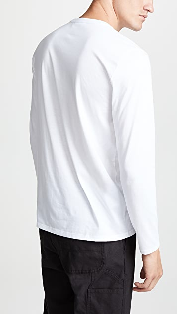 Lacoste Long Sleeve Crew Tee