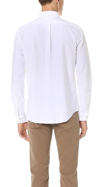 Lacoste Button-Down Oxford Shirt