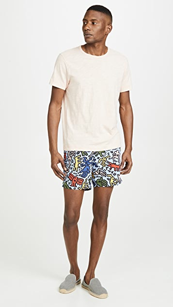 Lacoste x Keith Haring Boardshorts