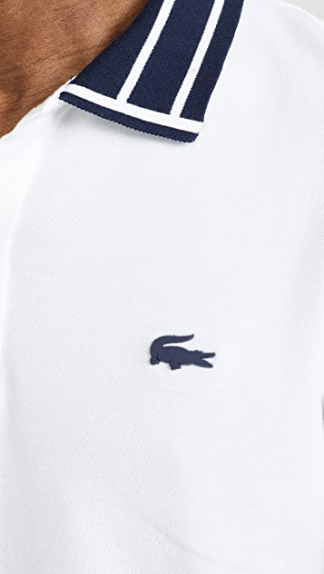 Lacoste Tipped Collar Polo