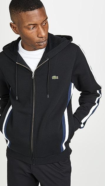 04155c9ebafe Lacoste Zip Sport Sweatshirt