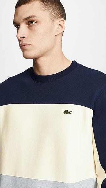 Lacoste Colorblocked Sweatshirt
