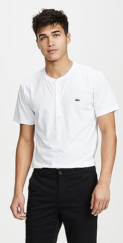 Lacoste - Short Sleeve Henley Shirt