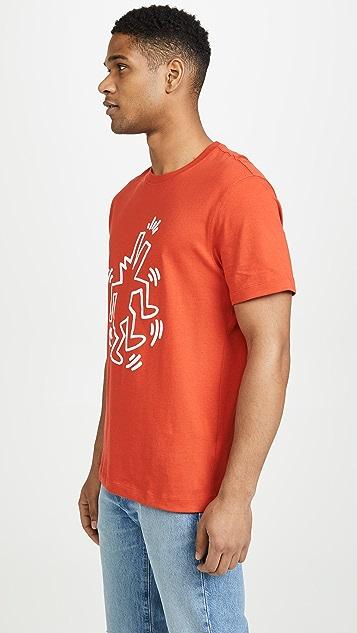Lacoste Keith Haring Big Logo Tee