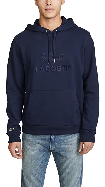Lacoste French Terry Logo Hoodie