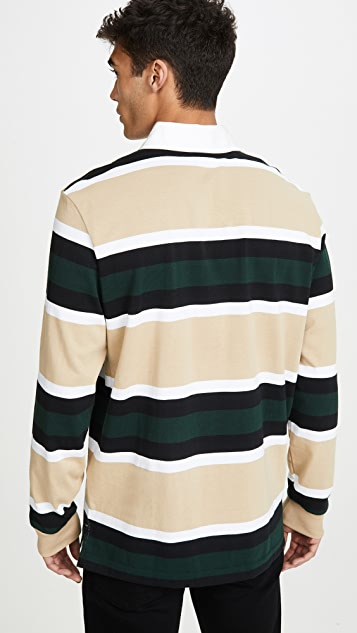 Lacoste Heavy Jersey Rugby Shirt