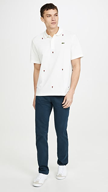 Lacoste L!Ve Roses All Over Polo