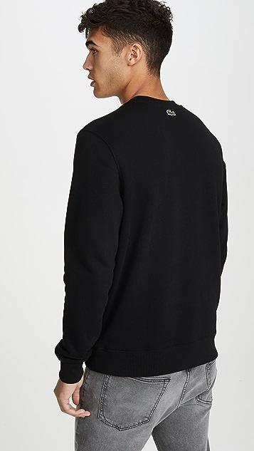 Lacoste L!Ve Futuristic Logo Sweatshirt