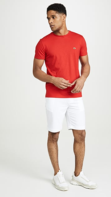 Lacoste Sport Golf Bermuda Shorts with Croc Logo