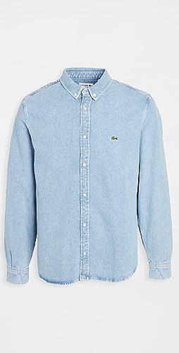 Lacoste - Long Sleeve Denim Shirt