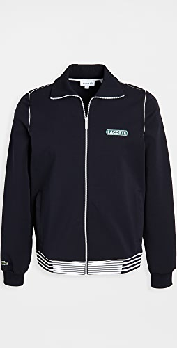 Lacoste - Striped Tipping  Jacket